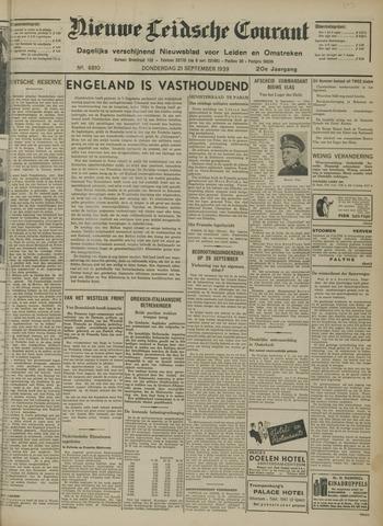 Nieuwe Leidsche Courant 1939-09-21