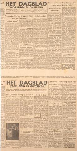 Dagblad voor Leiden en Omstreken 1944-11-07