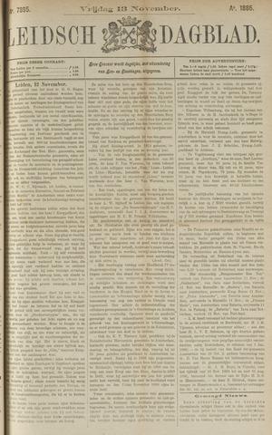 Leidsch Dagblad 1885-11-13