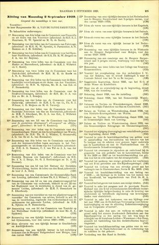 Handelingen van de Raad 1929-09-02