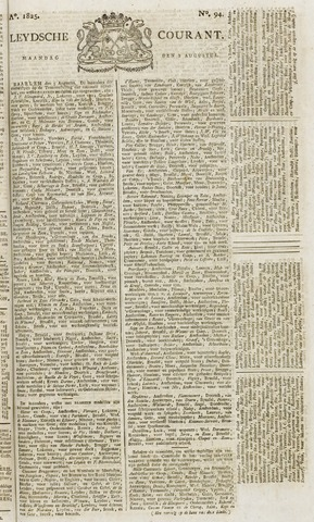 Leydse Courant 1825-08-08