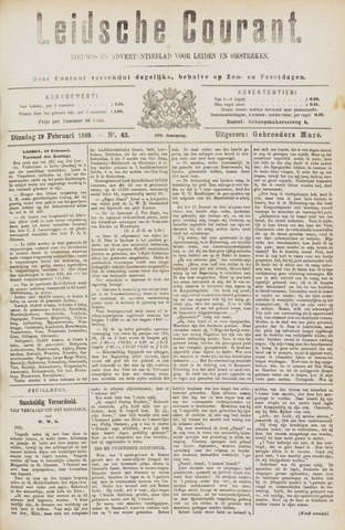 Leydse Courant 1889-02-19