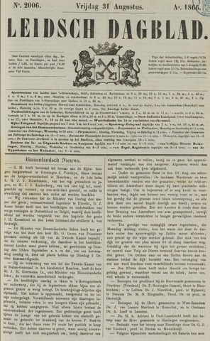 Leidsch Dagblad 1866-08-31