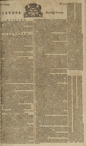Leydse Courant 1754-10-21