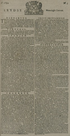 Leydse Courant 1734-01-11