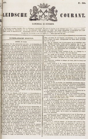 Leydse Courant 1875-10-30