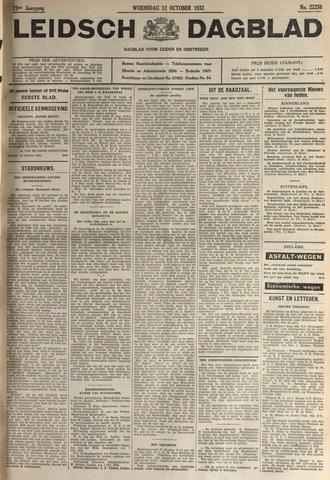 Leidsch Dagblad 1932-10-12