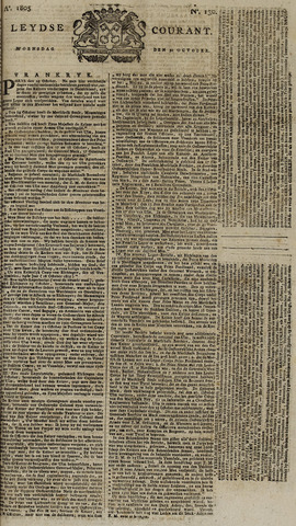 Leydse Courant 1805-10-30