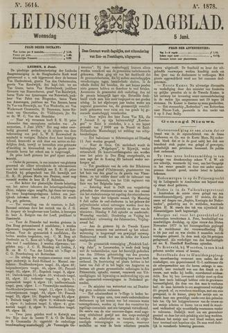 Leidsch Dagblad 1878-06-05