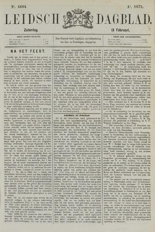 Leidsch Dagblad 1875-02-13