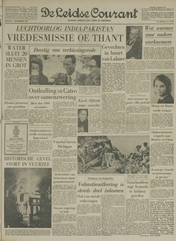 Leidse Courant 1965-09-07