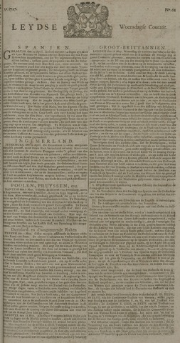Leydse Courant 1727-05-21