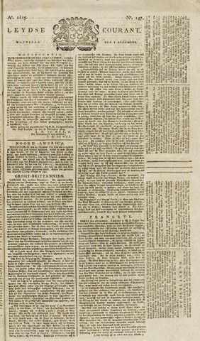 Leydse Courant 1819-12-08