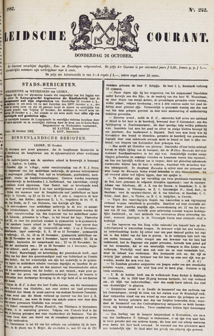 Leydse Courant 1882-10-26