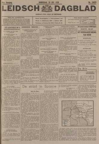 Leidsch Dagblad 1938-07-28
