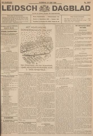 Leidsch Dagblad 1928-06-16