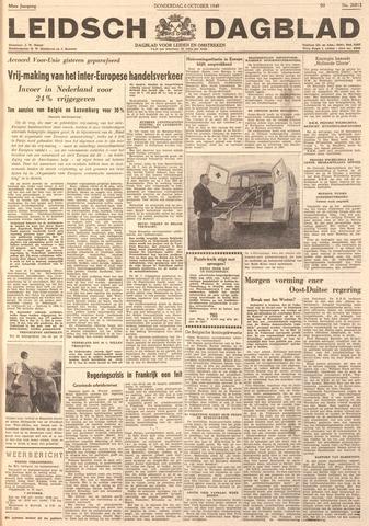 Leidsch Dagblad 1949-10-06