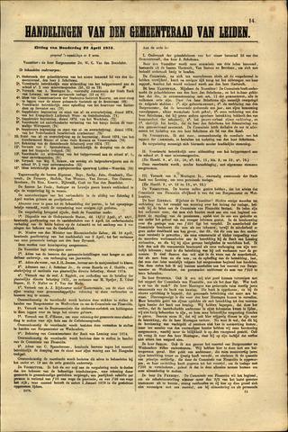 Handelingen van de Raad 1875-04-22