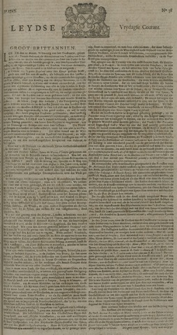 Leydse Courant 1727-03-28