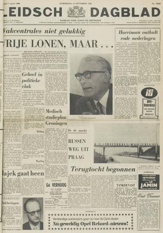 Leidsch Dagblad 1968-09-12