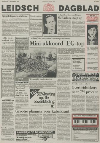 Leidsch Dagblad 1985-12-04