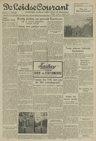 Leidse Courant 1951-02-02
