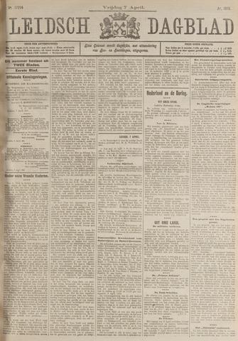 Leidsch Dagblad 1916-04-07