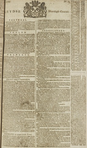 Leydse Courant 1769-01-30
