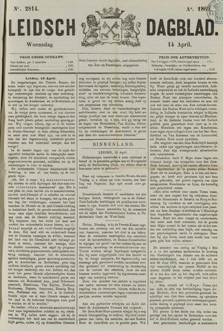 Leidsch Dagblad 1869-04-14