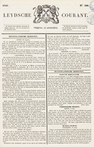 Leydse Courant 1846-08-21