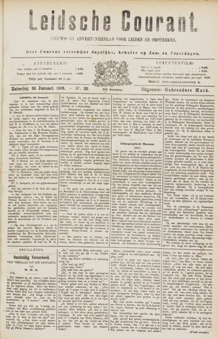 Leydse Courant 1889-01-26
