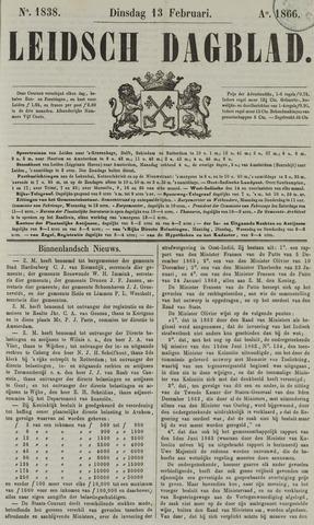 Leidsch Dagblad 1866-02-13