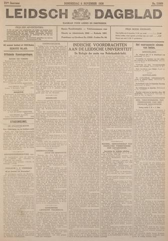 Leidsch Dagblad 1930-11-06