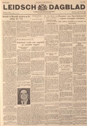 Leidsch Dagblad 1947-09-22