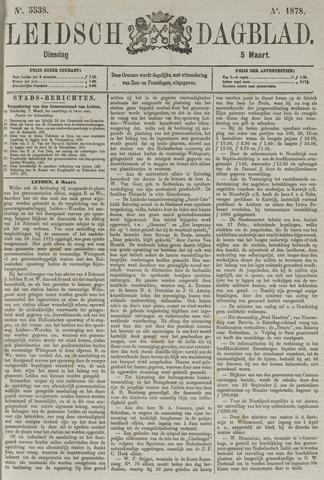 Leidsch Dagblad 1878-03-05