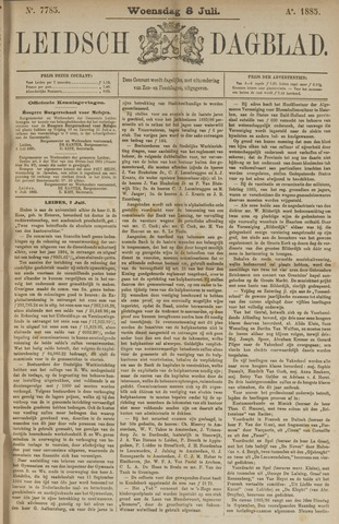 Leidsch Dagblad 1885-07-08