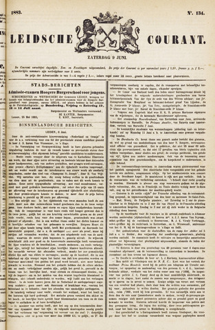 Leydse Courant 1883-06-09