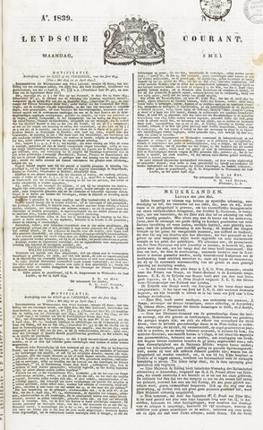 Leydse Courant 1839-05-06