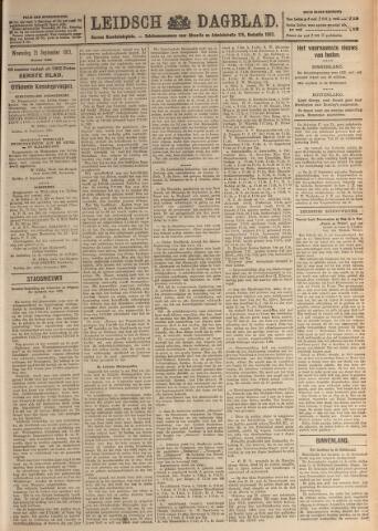 Leidsch Dagblad 1921-09-21