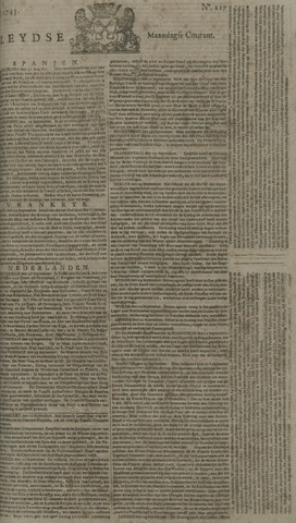 Leydse Courant 1743-09-30