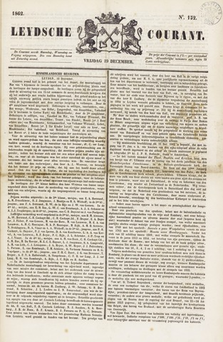 Leydse Courant 1862-12-19