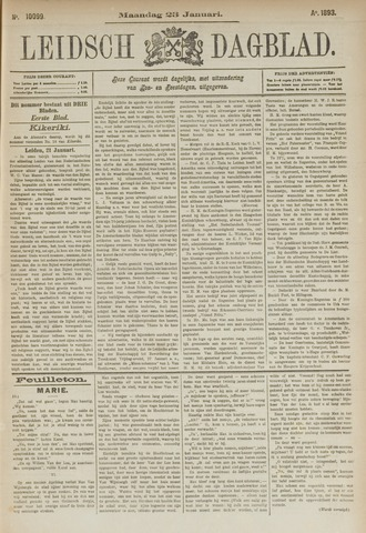 Leidsch Dagblad 1893-01-23