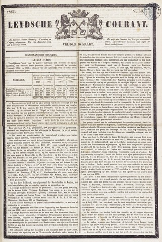 Leydse Courant 1865-03-10