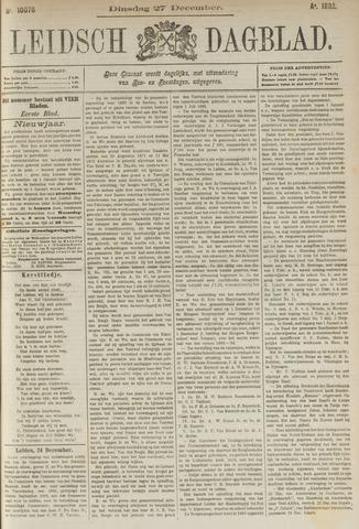 Leidsch Dagblad 1892-12-27