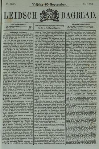 Leidsch Dagblad 1880-09-10