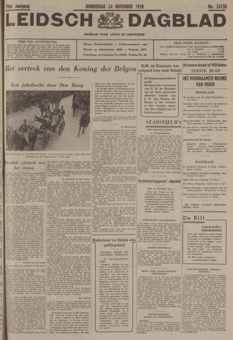 Leidsch Dagblad 1938-11-24