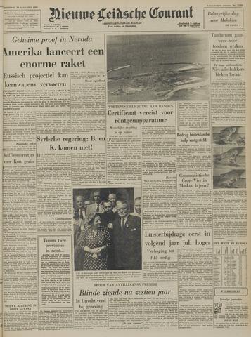 Nieuwe Leidsche Courant 1957-08-29