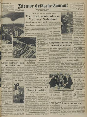 Nieuwe Leidsche Courant 1957-04-04