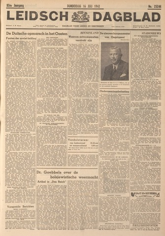 Leidsch Dagblad 1942-07-16