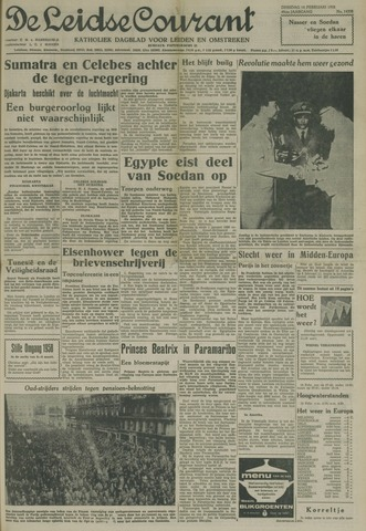 Leidse Courant 1958-02-18